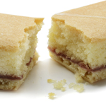Medium Size Bakewell Slice