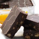 Chocolate Orange Biscuit Cake