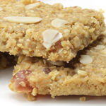 Cherry Almond Flapjacks