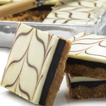 White Chocolate Fudge Slice